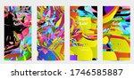 abstract social media template...   Shutterstock .eps vector #1746585887
