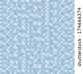 square mosaic texture | Shutterstock .eps vector #174666374