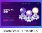 innovative idea development... | Shutterstock .eps vector #1746685877