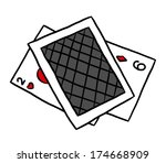 card game   cartoon vector and...