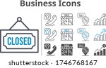 business icon set included...