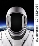 astronaut on space mission with ...   Shutterstock . vector #1746824054