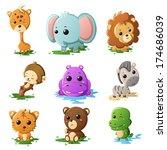 a vector illustration of... | Shutterstock .eps vector #174686039