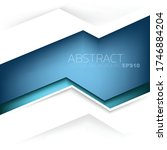 blue vector background... | Shutterstock .eps vector #1746884204