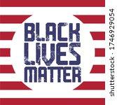 black lives matter text vector...   Shutterstock .eps vector #1746929054