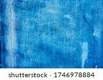 Grunge Blue Iron Texture...