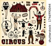 circus stars collection. circus.... | Shutterstock . vector #1746990044