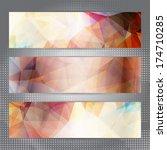 abstract geometric invitation... | Shutterstock .eps vector #174710285