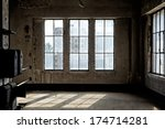 Industrial Interior With Br...