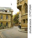 a street view from cambridge uk. | Shutterstock . vector #17471464