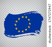 flag of  european union from...