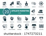 Affiliate Marketing Icon Set....