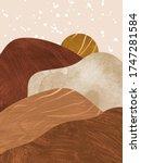 abstract modern textured...   Shutterstock . vector #1747281584