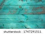 weathered blue wooden... | Shutterstock . vector #1747291511