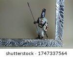 Miniature Crusader Warrior....