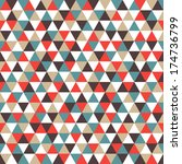 abstract geometric background... | Shutterstock .eps vector #174736799