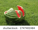 Watermelon Carved As A...