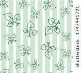seamless endless botanical... | Shutterstock .eps vector #1747441721