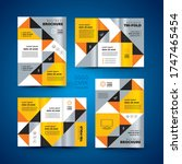 flyers design template set... | Shutterstock .eps vector #1747465454