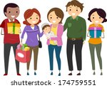 illustration of a baby's...   Shutterstock .eps vector #174759551