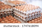Full Fresh Eggs Of Paper Tray...