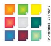post it note | Shutterstock . vector #17478049