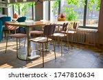 Interior Of A Restaurant ...
