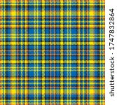 tartan plaid pattern seamless.... | Shutterstock .eps vector #1747832864