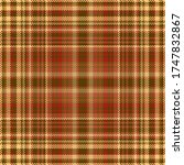 tartan plaid pattern seamless.... | Shutterstock .eps vector #1747832867