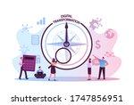 data analysis and digitization... | Shutterstock .eps vector #1747856951