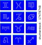 signs of the zodiac | Shutterstock .eps vector #17478748