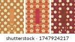 oriental japanese style... | Shutterstock .eps vector #1747924217