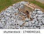 Old Cast Concrete Headwall...