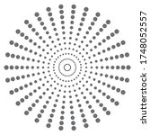 vector illustration of radial...   Shutterstock .eps vector #1748052557
