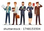 lawyers team. legal department  ... | Shutterstock .eps vector #1748153504