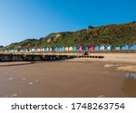 Beach Huts At Overstrand In...