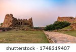 View Of Tughlaqabad Fort  A...