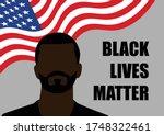 illustration of black person... | Shutterstock .eps vector #1748322461