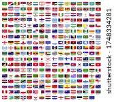 287 flag vector  country flag... | Shutterstock .eps vector #1748334281
