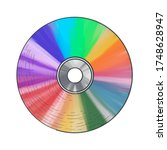 Illustration Of Compact Disc...