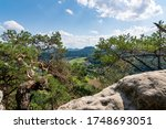 Saxon Switzerland  View From...
