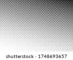 dots background. monochrome... | Shutterstock .eps vector #1748693657