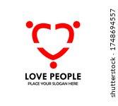 Loe People Logo Design Templat...