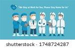coronavirus covid 19 awareness...   Shutterstock .eps vector #1748724287