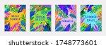 bundle of summer vector... | Shutterstock .eps vector #1748773601