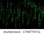 cyber hacker crime attack data... | Shutterstock . vector #1748774711
