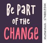 black lives matter 2020. social ... | Shutterstock .eps vector #1748815544