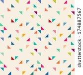 seamless geometric pattern | Shutterstock . vector #174887567