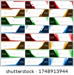 abstract corporate business... | Shutterstock .eps vector #1748913944