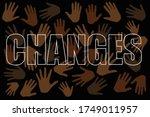 black lives matter movement.... | Shutterstock . vector #1749011957